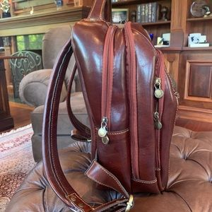 Other - Authentic Luxury Men's Italian Leather Backpack